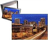 Photo Jigsaw Puzzle Of Tacoma Skyline, Washington State, United States Of America, North America