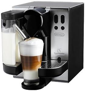 DeLonghi EN680.M Nespresso Lattissima Single-Serve Espresso Maker, Metal
