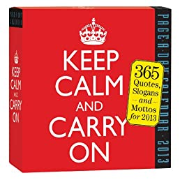 Keep Calm and Carry On 2013 Page-A-Day Calendar
