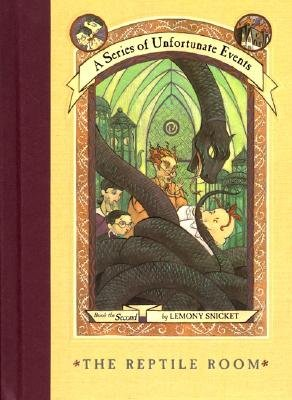 Series of Unfortunate Events. Reptile Room by Lemony Snicket