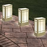 Candle Luminaria Kit - Gold/white (12 Ct)