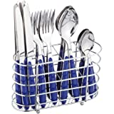 Esmeyer Jennifer II 158-204 24-Piece Cutlery Set in Cutlery Basket Blue