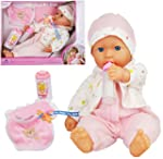 New Born Soft Bodied Baby Doll Toy wi...