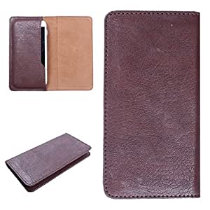 DooDa PU Leather Case Cover For Intex Aqua i15