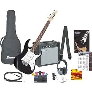 Amazon.com: IJX40 Electric Guitar Jumpstart Package (Black
