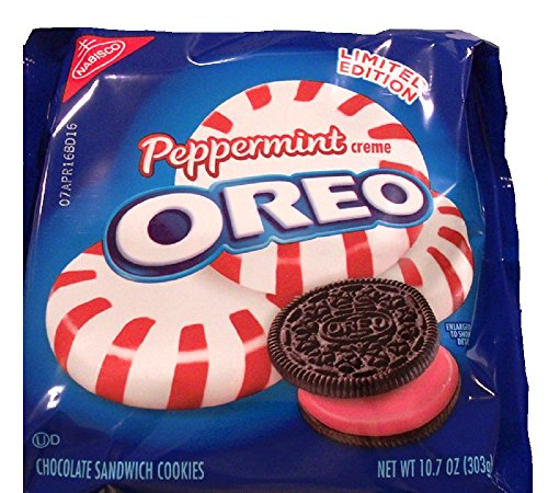 Oreo Limited Edition Peppermint Sandwich Cookies (10.7-Ounce) (Oreos Red Velvet compare prices)