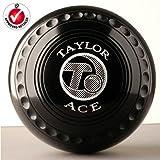 Taylor Ace Pro Grip Bowls Black Heavy Size 4