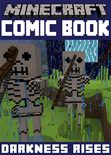 Minecraft Comic Books - Minecraft Comic Book: Darkness Rises (English Edition)