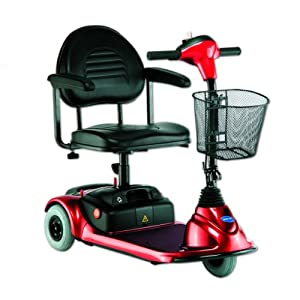 Buy Lynx Scooter 3 Wheel Red by Invacare