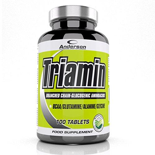 Integratore Anderson Triamin aminoacidi ramificati e glucogenetici 100 cpr