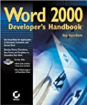 Word 2000  Developer's Handbook