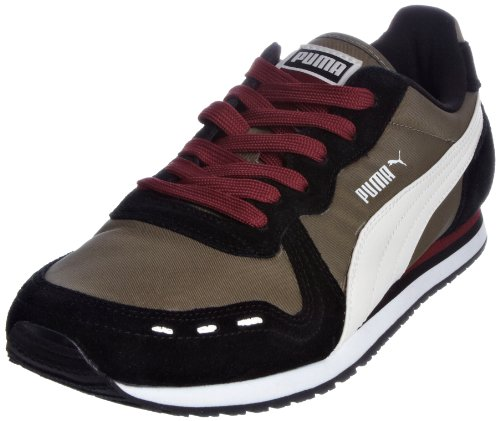 Puma Men's Cabana Racer C 2l Black/Gray/White/Cord Trainer 351571-03 7.5 UK