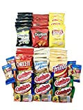 Best Selling Snack Pack -11 Varieties of 41 Crunchy Snacks in 1 Bundle -Perfect As a College Care Pack & New Year Gift – Snacks for Soldiers, College Students, Athletes, Campers & Hikers thumbnail