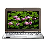 Toshiba NB200-10z 10.1-inch Netbook (Atom N280 1.66 GHz, 1 GB RAM, 160 GB HDD, Windows XP Home, Brown)by Toshiba