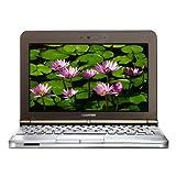 Toshiba NB200-10z 10.1-inch Netbook (Atom N280 1.66 GHz, 1 GB RAM, 160 GB HDD, Windows XP Home, Brown)by Toshiba