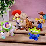 Toy Story 3 BUZZ Woody Jessie Woody's Horse Bullseye Space Alie set of 5 pcs No packaging