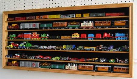 HO RR N Scale Hot Wheels Trains Display Case Shadow Box Cabinet-HW05B & Toy Storage Cabinets : Hot Wheels Matchbox 1/64 scale Diecast ...