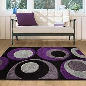 Tappeti sala soggiorno motivo bolle colori grigio e for Amazon tappeti soggiorno