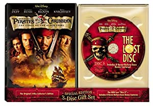 Pirates Of The Caribbean: Curse Of The Black Pearl and The Lost Disc (3-Disc Special Edition Gift Set)