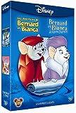echange, troc Les aventures de Bernard et Bianca + Bernard et Bianca au pays des kangourous - Coffret 2 DVD