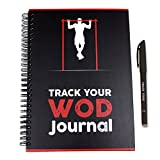 Track Your WOD Journal - The Ultimate CrossFit Tracking Journal. 3rd EDITION. 6x9 Hardcover w/ pen included. Track 210 WODs, 9 benchmarks + 25 Girls + 25 Hero WODs, and all your Personal Records.