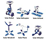 6 – in – 1 Educational DIY Solar Powered Kit – Science Education Toys for Kids Children