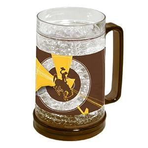 Buy NCAA Wyoming Cowboys 16-Ounce Crystal Freezer Mug by Northwest