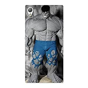 Premium Blue Big Guy Back Case Cover for Sony Xperia Z3