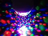 En'da Full Color Rotating Lamp Strobe LED Crystal Stage Light for Disco Party Club Bar Dj .Ball Bulb Multi Changing Color