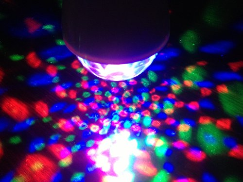 Full Color Rotating Lamp Strobe LED Crystal Stage Light for Disco Party Club Bar Dj .Ball Bulb Multi Changing Color