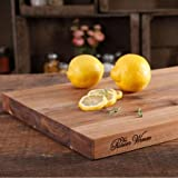 "The Pioneer Woman Cowboy Rustic 11"" x 14"" Acacia Wood Cutting Board, Brown"