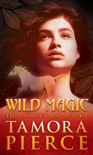 Cover of Wild Magic (The Immortals, Book 1)