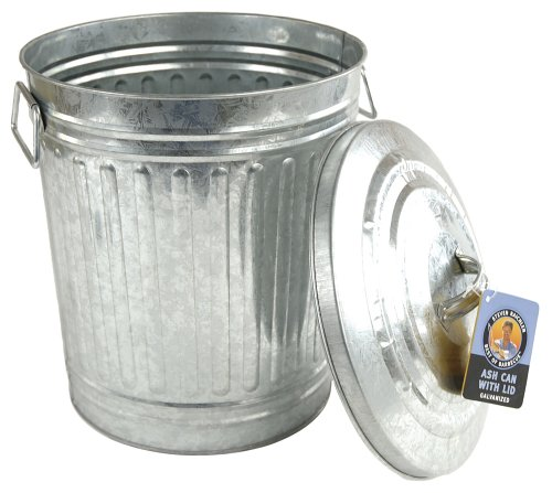 Steven-Raichlen-Best-of-Barbecue-Galvanized-Charcoal-and-Ash-Can-with-Lid-SR8012