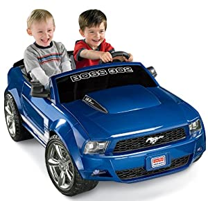 Amazon.com: Fisher-Price Power Wheels Ford Mustang Boss 302 - Blue