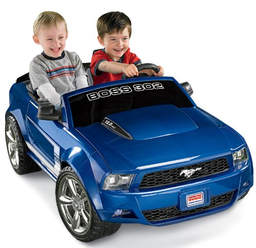 Power Wheels Boss Mustang Ride On