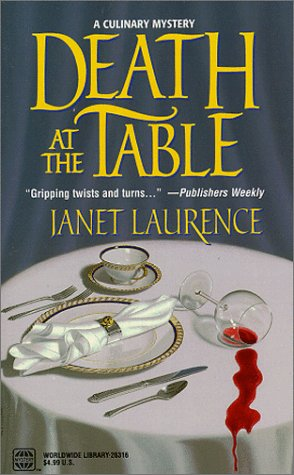 Death At The Table (Worldwide Library Mysteries), Laurence,Janet