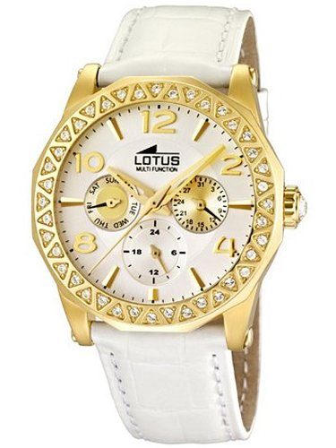 Lotus Women's Quartz Watch 15761/1 with Leather Strap