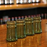 Thumbs Up! Bottleneck Shot Glasses, Set of 4