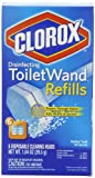Clorox ToiletWand Disposable, Refill, 6-Count Packages (Pack of 8)