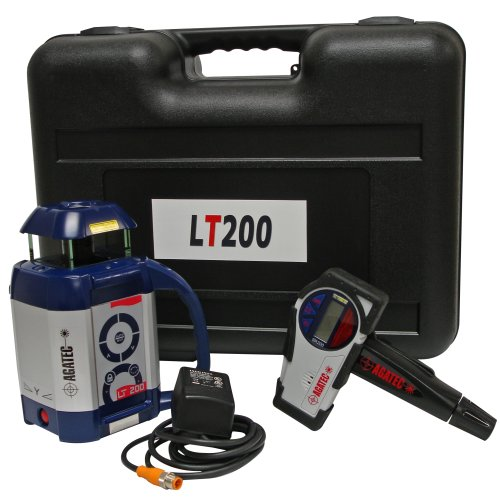 Agatec LT200 GC Self Leveling All Metal Housing Rotary Laser Level with Dual Manual Grade