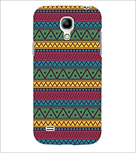 PrintDhaba Pattern D-5250 Back Case Cover for SAMSUNG GALAXY S4 MINI (Multi-Coloured)