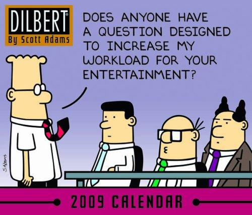 Official Dilbert Desk Block Calendar 2009 2009