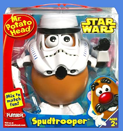 STAR WARS Play School Spud Trooper (japan import)