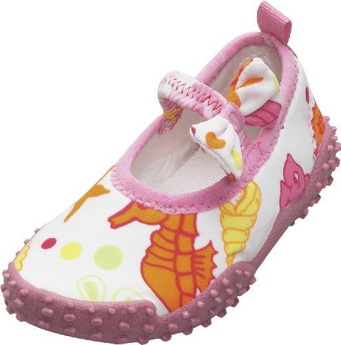 Playshoes Aquaschuhe, Badeschuhe Meerjungfrau mit höchstem UV-Schutz nach Standard 801, Scarpe da immersione bambine Rosa Pink (original 900) 20/21