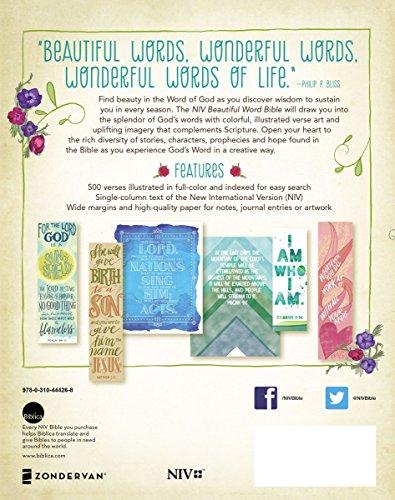 Niv Beautiful Word Bible Hardcover