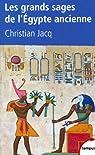 Les grands sages de l'Egypte ancienne : D'Imhotepà Hermès par Jacq