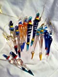 12 Beautiful Multicolor GLASS ICICLE Christmas Ornaments/HOLIDAY Tree DECOR/Dozen/GIFT/DECORATIONS image