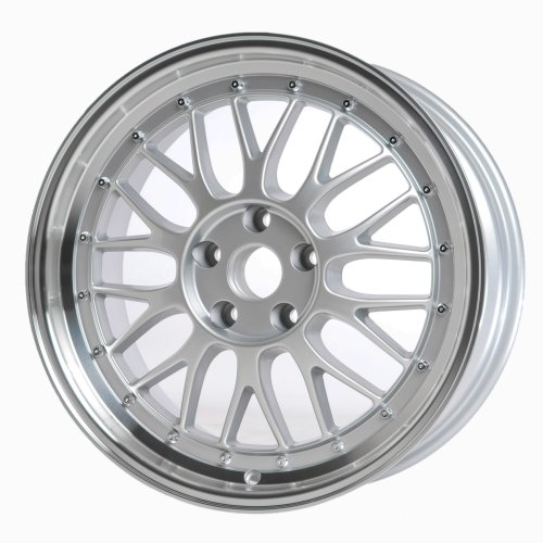 18″ Silver Audi ST8 LeMans Style Wheels Set (Set