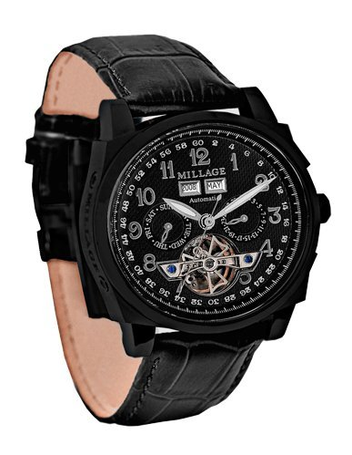 Millage Tourbillion Collection IP Black On Black On Black