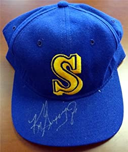 Ken Griffey, Jr. Autographed Hand Signed Seattle Mariners Hat PSA DNA #V56354 by Hall of Fame Memorabilia